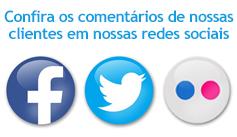 Depoimentos em nossas Redes Sociais